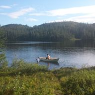 Fånettvatnet, Leksdalen