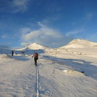 Halsbekkhøa 1365 moh.