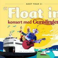 """Gunslingers """"Float-in"""" konsert i Skjenevika (Manger), Radøy"""