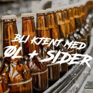 Bli kjent med øl og sider 2.desember i Matbaren!