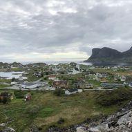 Topptur på Værøy