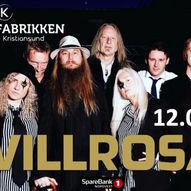 Villrosa Kulturfabrikken  Fredag 12.03