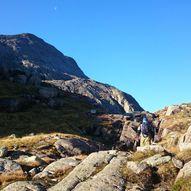 Topptur til Kvamshesten i Sunnfjord (1209 moh)