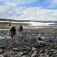 Norge på langs med barn / Etappe 16.1 / Skibotndalen–Kautokeino
