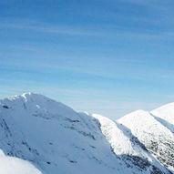 Topptur på ski til Ljosåbelgen (1948 moh.)