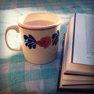 Bok og kaffi