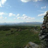 Barnevennlig tur til Synet (1137 moh) fra Nystølen