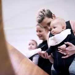 Babyomvisning i NONA: Se på meg!