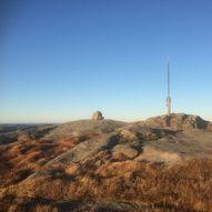 Lyfjellet (487 moh) - høyest i Farsund