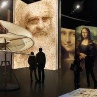 Leonardo Da Vinci og GLASS - kombibillett