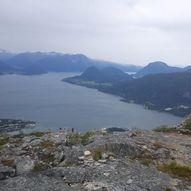 Romsdalseggen om Høgnøsa