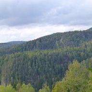 Topptur til Vieråsane utsiktspunkt om Åstjønn