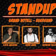 Standup på Grand Hotell Egersund