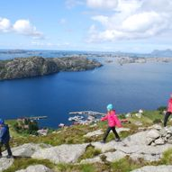 Hersvik og Nord-Solund - kajakk Solund