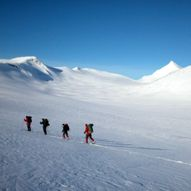 Helgeskitur i Saltdals grensefjell