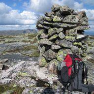 Topptur til Sveinsheii