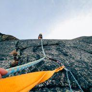 Klatrerute i Lofoten
