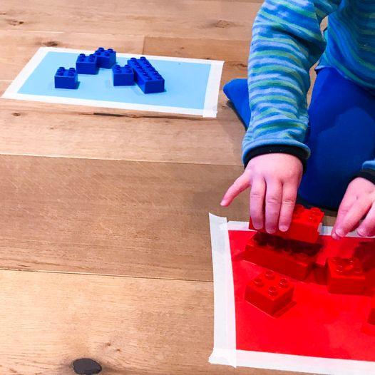 Lek og lær med farger - Aktivitet for de minste