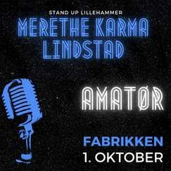 Merethe Karma Lindstad - Amatør