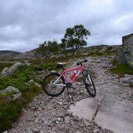 Rundtur på sykkel til Knaben 1 og Roma Gruver