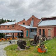 Klevfos industrimuseum og Munchsenteret i Løten