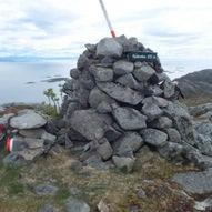 Tre løyper til Kjulsveten, 272 moh.