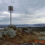 Staurfjellet, fra Akset  -  KP