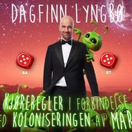 Dagfinn Lyngbø - Kjøreregler i forbindelse med koloniseringen av mars