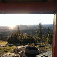 From Asker stasjon to Hovdehytta