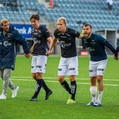 NM 3.runde Viking - Rosenborg