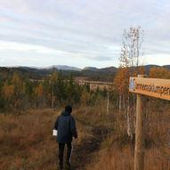 Topptur til Jønnemsklumpen 530 moh - Start fra Pungelva