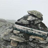 Topptur til Blånipo via Liland