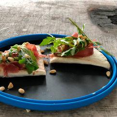 Tortillapizza på primusen – ekstra god turmat