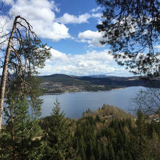 Biri – tur med utsikt over Mjøsa