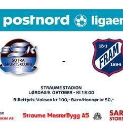Seriekamp Sotra SK - Fram Larvik