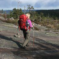 Villmarkstur fra Sandtjønn over Uvdalsvatnet til Gautefallheia
