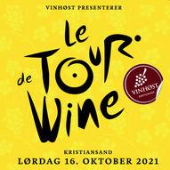 Le Tour De Wine - Lørdag 16. oktober 2021 - FÅ BILLETTER IGJEN!