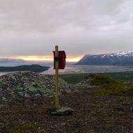 Topptur til Rødberget 248 moh i Tana kommune
