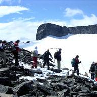 Topptur til Vesle Galdhøpiggen (2369 moh.)