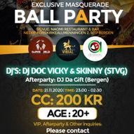 EXCLUSIVE MASQUERADE BALL PARTY