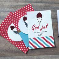 24 kort, skriv ut helt gratis - Rampenissens julekalender