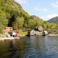 Haugelandstrand kystledhytte