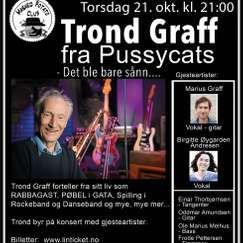 Trond Graff fra Pussycats - Forteller og spiller m/band