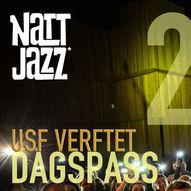 Dagspass FREDAG 21. MAI // Nattjazz 2021 // Trondheim Jazzorkester m.m.