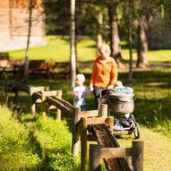Bordvassvegen: fottur i Lom nasjonalparklandsby