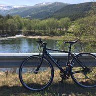 På sykkel i Dovre - Dovrebygda rundt - Dombås - Dovreskogen - Dombås