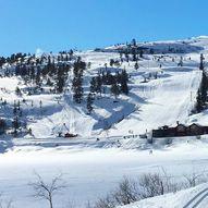 Kjelkekjøring på Fagerfjell skisenter