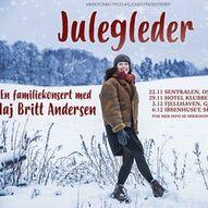 Julegleder - Julekonsert for hele familien med Maj Britt Andersen