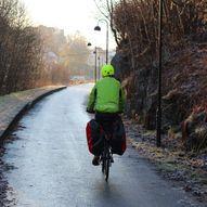 Grønne sykkelruter: Gamle Osbanen/Vossbanen: Kalandseidet – Stend – Fjøsanger