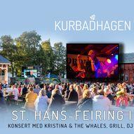 St. hans i Kurbadhagen // DJ, grill & konsert med Kristina & The Whales